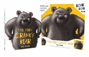Very Cranky Bear HB + Canvas by Nick Bland