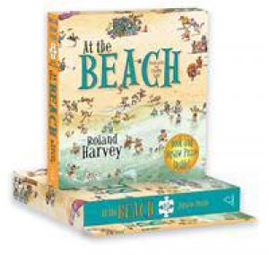 At The Beach: Book And Jigsaw Puzzle