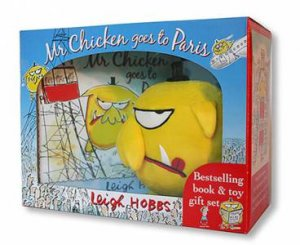 Mr Chicken Goes To Paris: Book And Toy Gift Set