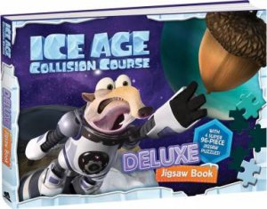 Deluxe Jigsaw Book: Ice Age 5 Collision Course