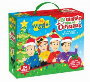 Wiggles: 12 Wiggly Days Of Christmas: Book And Floor Puzzle