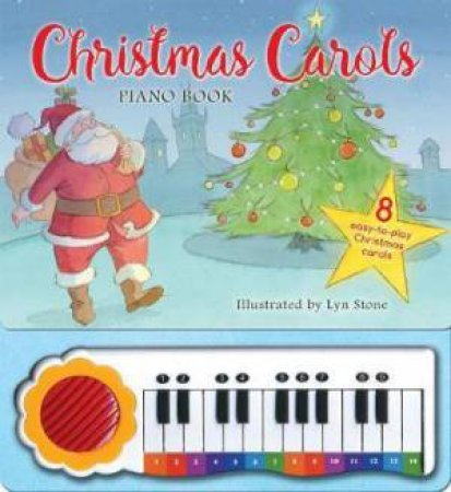 Christmas Carols Piano Book by Lyn Stone