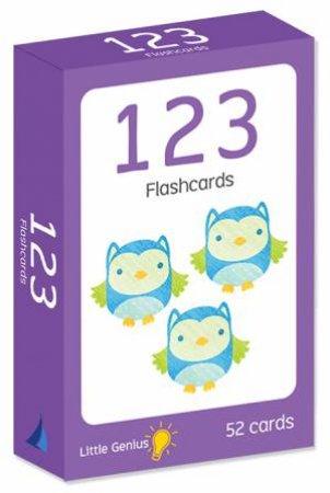 Little Genius Flashcards: 123