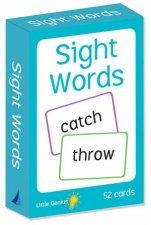 Little Genius Flashcards Sight Words