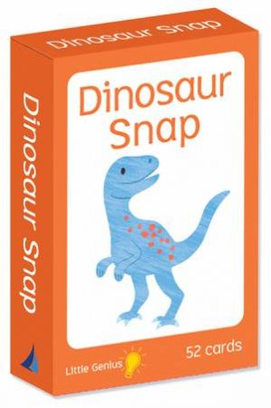 Little Genius Flashcards: Dinosaur Snap