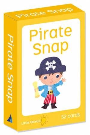 Little Genius Flashcards: Pirate Snap