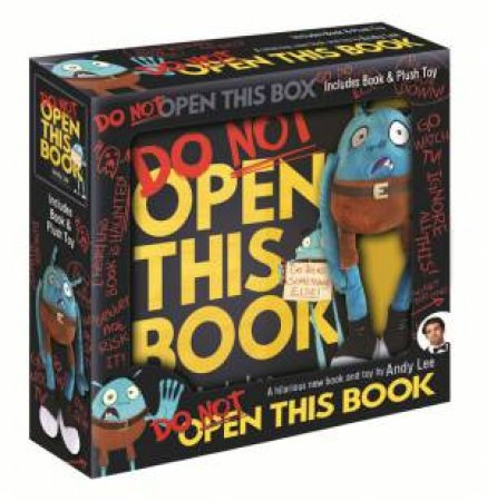 Do Not Open This Book: Book And Plush