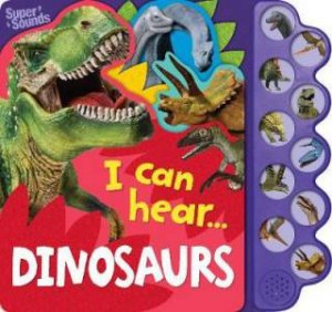 10-Button Sound Book: Dinosaurs