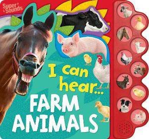10-Button Sound Book: Farm