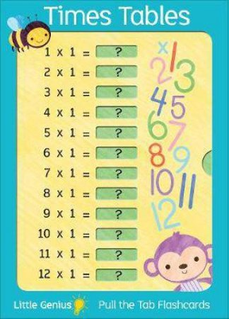 Little Genius Giant Flash Cards: Times Tables