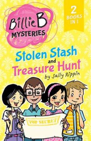 Billie B Brown 2-In-1 Mysteries: Stolen Stash / Treasure Hunt