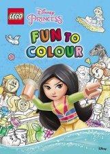 Lego Disney Princess Fun To Colour