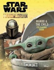Star Wars The Mandalorian Mando and The Child Colouring Book