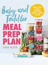 Baby  Toddler Meal Prep Plan