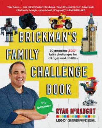 Brickman's Family Challenge Book by Ryan McNaught