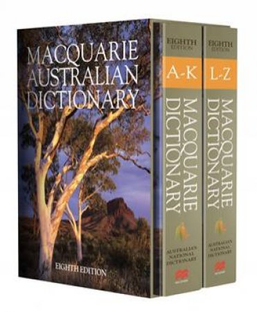 Macquarie Dictionary Eighth Edition by Various