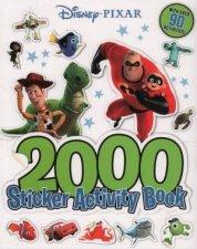 Disney Pixar 2000 Sticker Activity Book