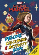 Marvel Captain Marvel Deluxe Colouring And Activity Book
