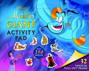 Aladdin: Giant Activity Pad by Various - 9781760664688 - QBD Books
