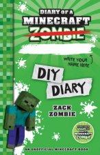 Diary of a Minecraft Zombie DIY Diary