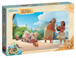 Disney Moana: Storybook And Jigsaw by Various - 9781760668129 - QBD Books