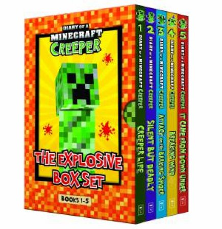 Diary Of A Minecraft Creeper: The Explosive Box Set (Books 1 To 5)