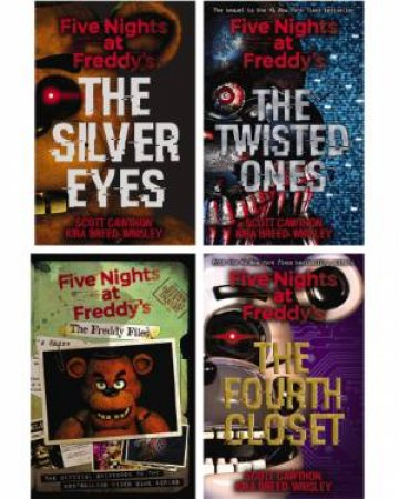 Five Nights At Freddys Boxed Set by Scott Cawthon