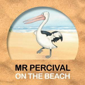 Mr Percival on the Beach Bath Book