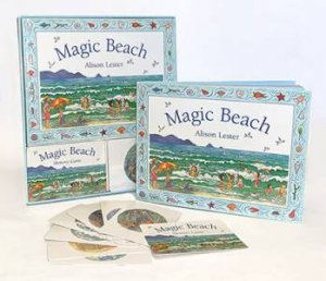 Magic Beach: Book And Memory Card Game