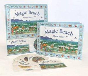 Magic Beach: Book And Memory Card Game