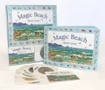 Magic Beach Book And Memory Card Game
