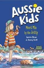 Aussie Kids Meet Mia By The Jetty