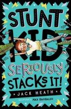 Stunt Kid Seriously Stacks It