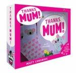 Thanks Mum Box Set With Bed Socks
