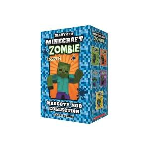 Diary Of A Minecraft Zombie Books 1-5 Maggoty Mob Collection