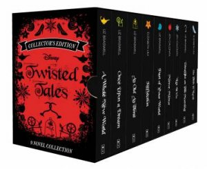 Disney Twisted Tales 9 Book Boxed Set by Various
