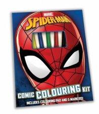 Spider Man Colouring Kit