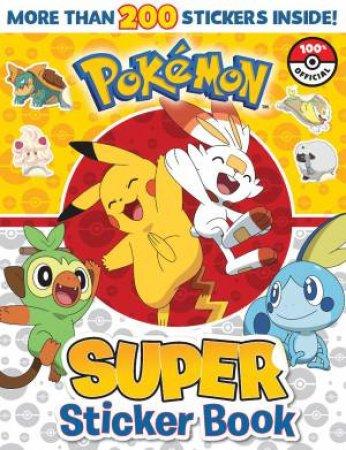 Pokemon: Super Sticker Book by Various