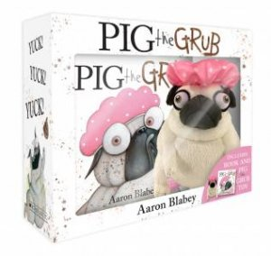 Pig The Grub Boxed Set With Plush by Aaron Blabey
