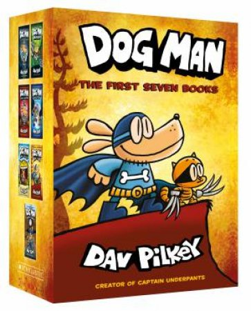 Dog Man: The First Seven Books Boxed Set by Dav Pilkey