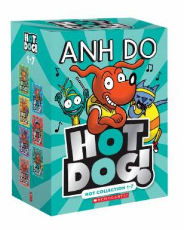 Hotdog! Hot Collection 1 To 7 Boxed Set by Anh Do