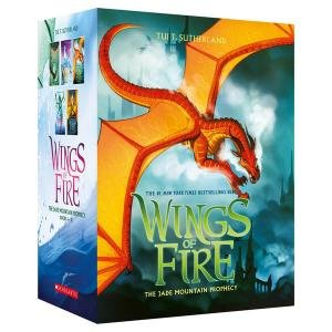 Wings Of Fire 6 To 10 Boxed Set: The Jade Mountain Prophecy by Tui T Sutherland