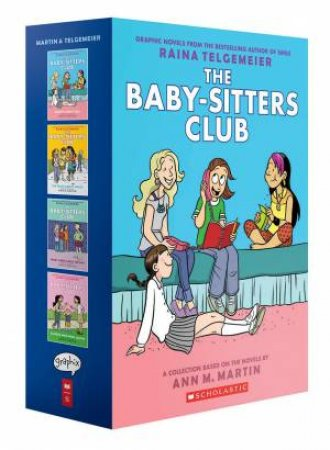 The Baby Sitters Club Colour Graphix 1-4 Boxed Set by Ann M. Martin