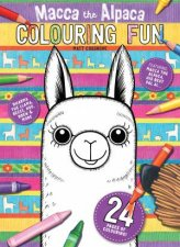 Macca The Alpaca Colouring Fun