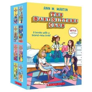 The Babysitters Club Netflix Editions 1 To 8 Boxed Set