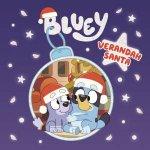 Bluey Verandah Santa
