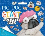 Pig The Pig Giant Activity Pad
