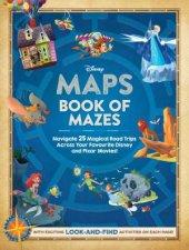 Disney Maps Book Of Mazes