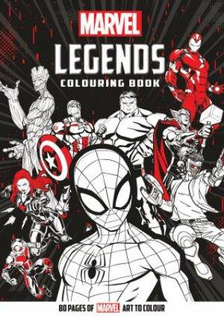 Marvel: Legends Colouring Book