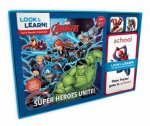 Marvel Look And Learn Avengers Super Heroes Unite